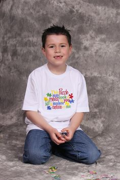 Very cool Autism Awareness Shirt by AllRibbonedOut on Etsy
