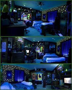 Cannabis inspired room
