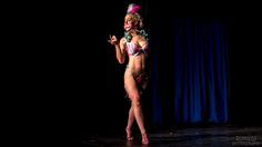 And next we have Jungle Kat of Lost Girls Burlesque, performing a carousel burlesque routine at the Screaming Chickens Taboo Revue.   Vancouver has a kind of amazing burlesque scene when all is said and done.  There are all sorts of different troupes, styles and more going on in the city.   #burlesque #carousel #screamingchickens #lostgirlsburlesque #junglekat #ponyplay #zemekiss #zememkissphotography
