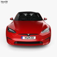 Tesla Model S Plaid 2021 3D model - Vehicles on Hum3D Car 3d Model, Stl File Format, Car Engine, Plaid, Models, Vehicles, Gingham, Templates, Car