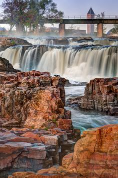 Sioux Falls: Falls Park @South Dakota