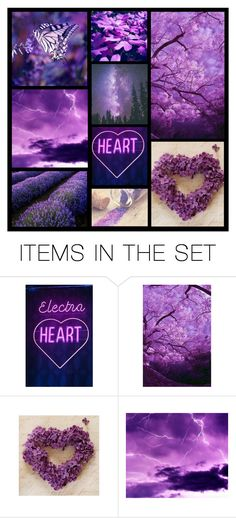 """""""set about color.....#7 purple"""" by heartandsoul ❤ liked on Polyvore featuring art"""