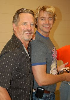 Tom Wopat & John Schneider ok the only one who stayed hot is John