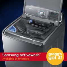 Experience laundry in a whole new way with the Samsung activewash!