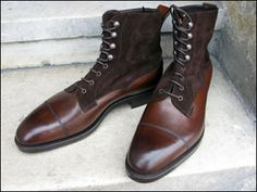 Edward Green Galway boot  http://www.theshoesnobblog.com/