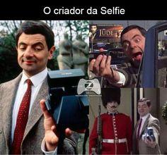 O criador da Selfie...haha #ElectronicsStore