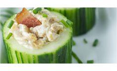 Canapé de concombre