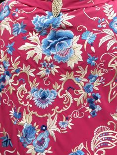 Textile Patterns, Textiles, Needle And Thread, Hand Embroidery, Sarees, Illustration, Clothing, Flowers, Painting