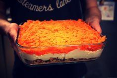 Carot daim skyr/wipped cream dessert