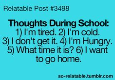 Teen Quotes About School | quotes school thoughts teen quotes relatable so relatable relatable ...