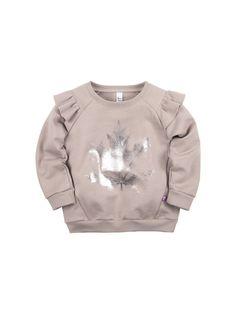 The original cut Bossa Nova sweatshirt is made in . Kids Winter Fashion, Kids Fashion, Toddler Outfits, Kids Outfits, Baby Kind, Kids Pajamas, Baby Girl Fashion, Baby Sewing, Kids Wear