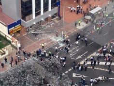 Explosión en calle 72 con carrera Décima: norte de Bogotá
