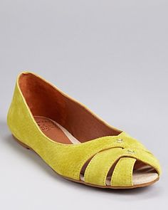Lucky Brand Flats - Ester Cutout | Bloomingdale's