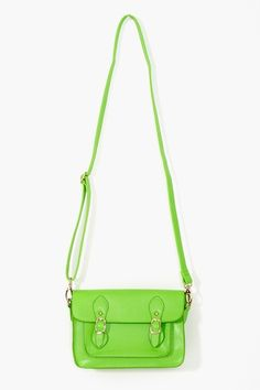 #Neon #Satchel in #Green #fashion #FashionCherry