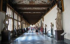 Galeria Ufizzi, en Italia.