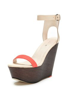 Khloe Wedge Sandal by Joe's Jeans at Gilt