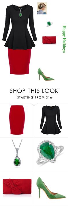 """""""ready for Christmas break"""" by modest-flute on Polyvore featuring Jaeger, Bling Jewelry, Blue Nile, L.K.Bennett and Salvatore Ferragamo"""