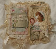 pages of shabby chic fabric book