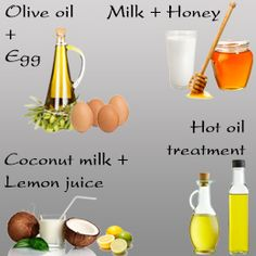 Natural hair straightening products: 2 eggs + 1–2 spoons of olive oil. Apply the mixture thoroughly on your hair. Leave it on for a few hours, then shampoo. Milk + honey. Keep it on for at least 1 to 2 hours, and  wash it off with a gentle shampoo.
