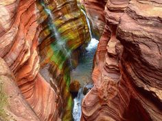 Deer Creek's beautiful slot canyon joins with the Colorado