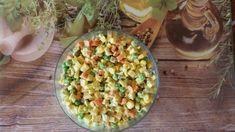 Sałatka Jarzynowa – ODMŁADZANIE NA SUROWO Pasta Salad, Vegetables, Health, Ethnic Recipes, Food, Crab Pasta Salad, Health Care, Essen, Vegetable Recipes