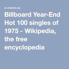 Billboard Year-End Hot 100 singles of 1975 - Wikipedia, the free encyclopedia