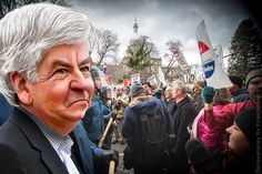 With four years of a downward spiral, will Rick Snyder even run for another four as governor? | Eclectablog