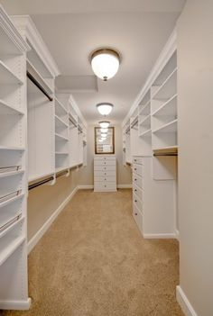 I'm so in love with this closet! Walk In Closet Design, Closet Designs, Master Closet Design, Closet Organization, Closet Storage, Closet Shelves, Open Shelves, Organization Ideas, Closet Doors