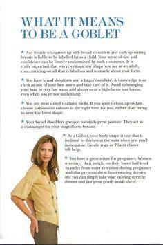 Trinny & Susannah's Body Shape Bible - Goblet p.13