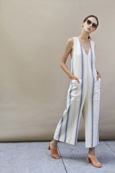 Steven Alan Spring 2017 Ready-to-Wear Fashion Show Collection Style Outfits, Cool Outfits, Women's Summer Fashion, Fashion Show, Fashion Brands, High Fashion, Mode Ootd, Beige Outfit, Jumpsuit Outfit