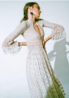 マメ 2016年春夏コレクション - ニューメキシコの広大な地が生んだ有機的なカラーの写真54 Daily Fashion, Love Fashion, Fashion Show, Vintage Fashion, Fashion Outfits, Womens Fashion, One Piece Dress, Dress Up, Colorful Fashion
