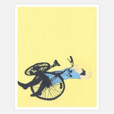 Bike Accident 2 8x10 now featured on Fab.