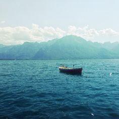 Lac Léman Clouds, Sky, Mountains, Landscape, Water, Instagram Posts, Pictures, Travel, Lake Geneva