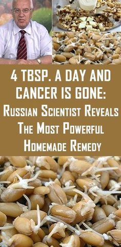 4 TBSP. A DAY AND CANCER IS GONE