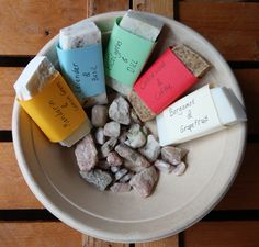Beautiful, nice and sustainable soaps. Handmade, I truly love them.
