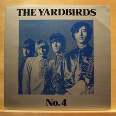 THE YARDBIRDS - No. 4 - Vinyl LP - Jimmy Page Led Zeppelin - Top Rare