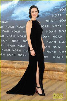 Jennifer Connelly & Douglas Booth Bring 'Noah' to Berlin, Premiere Film with Logan Lerman! | jennifer connelly douglas booth noah premiere i...