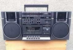 Hitachi Portable Boombox Cassette Stereo System FM/AM Shortwave Radio Short Waves, Tape Recorder, Boombox, Audio Equipment, Audio System, Music Love, Japanese, Retro, Coil Out