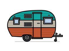 Google Image Result For Shutterstock Com Rh Green Camper Van Clip Art