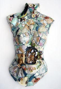 woman reflecting_Jenni Dutton mosaic