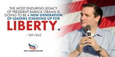 From your lips to God's ears   Senator Ted Cruz. Amen.