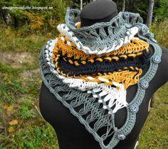 MYGGANS SURR: gaffelvirkad halskrage i egen design Diy Design, Crochet Necklace, Jewelry, Fashion, Moda, Crochet Collar, Jewels, Fashion Styles, Schmuck