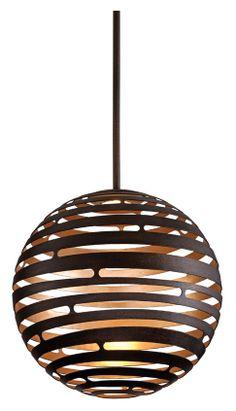 Corbett 138-42 Tango Small 18 Inch Diameter Bronze LED Hanging Pendant Light - COR-138-42