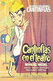 "Cantinflas poster for ""Aguila o Sol,"" (Heads or Tails) - 1937 Wikipedia"