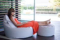 Designer Bean Bags for Outdoor and Indoor Use - Epona Co Beanbags. The Zen Chair