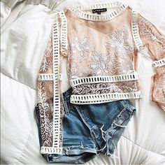 Bnwt for love and lemons top Bnwt For Love and Lemons Tops