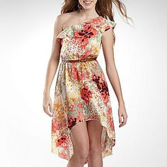 My Michelle One-Shoulder Dress - jcpenney