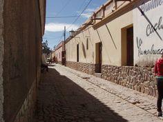 calle de Humahuaca, Jujuy, Argentina