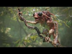 Tree Creature - Blender 2.8 development test - YouTube