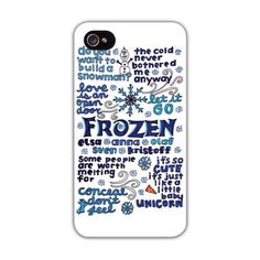 Disney's+Frozen+collage+on+a+phone+case!+Drawn+by+us!+Good+case+and+great+image+quality!